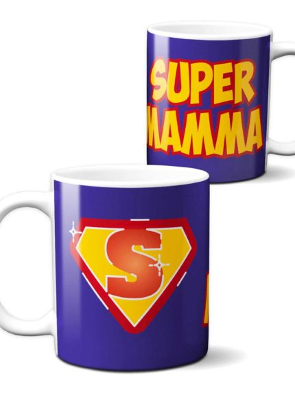 Tazza Mamma Supereroe per la Festa della Mamma